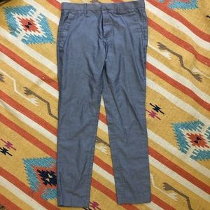 H&M light blue dress pants